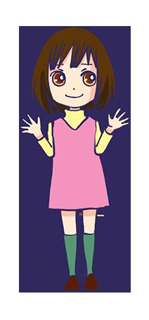 神尾葉子漫画キャラクター